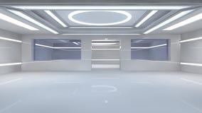 Futuristischer Innenraum Lizenzfreie Stockbilder