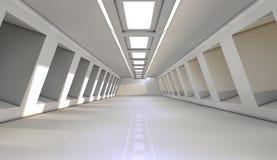 Futuristischer Innenraum Lizenzfreie Stockfotografie