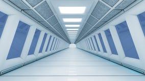 Futuristischer Innenraum Stockfotografie