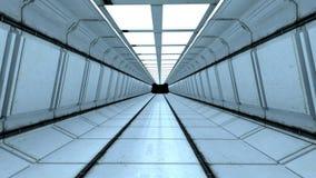 Futuristischer Korridor Stockfotografie