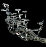 Futuristischer mechanischer Stuhl Lizenzfreies Stockfoto