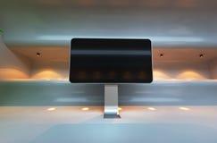 Futuristischer moderner Innenraum Lizenzfreies Stockbild