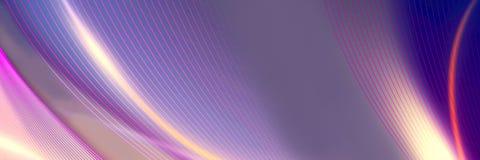 Futuristischer purpurroter panoramischer Hintergrund stockfotografie