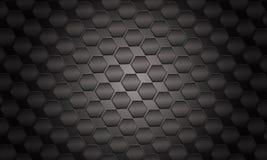 Futuristischer schwarzer Hintergrund Lizenzfreie Stockbilder