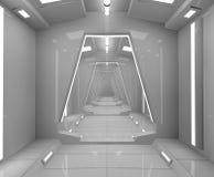 Futuristischer SCIFI-Innenraum Lizenzfreie Stockbilder