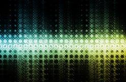 Futuristischer Technologie-Hintergrund Lizenzfreie Stockbilder