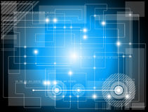 Futuristischer Technologiehintergrund Stockbilder