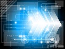 Futuristischer Technologiehintergrund Stockfotos