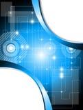 Futuristischer Technologiehintergrund Lizenzfreie Stockfotos