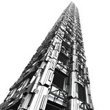 Futuristischer Wolkenkratzer 1 Lizenzfreies Stockfoto