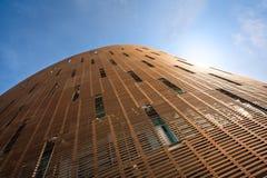 Futuristisches aufgerundetes Gebäude Lizenzfreie Stockbilder
