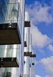 Futuristisches Bürohaus 3 lizenzfreie stockbilder