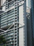 Futuristisches Bürohaus Stockbilder
