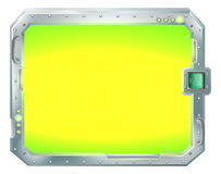 Futuristisches Bildschirm- oder Zeichenrandfeld Lizenzfreies Stockbild