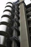 Futuristisches Gebäude Stockfotos