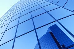 Futuristisches Gebäude Stockfoto