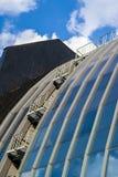 Futuristisches Gebäude lizenzfreies stockbild