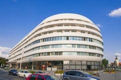Futuristisches Gebäude OVO in Breslau stockfotografie