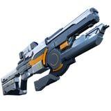 Futuristisches Gewehr stock abbildung