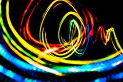 Futuristisk abstrakt grafisk suddig bakgrund Fotografering för Bildbyråer