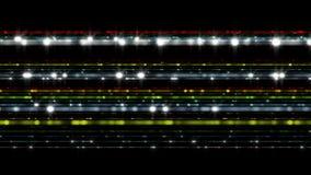 Futuristisk animering för teknologiljusband, 4096x2304 ögla 4K royaltyfri illustrationer