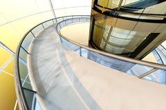 Futuristisk arkitektur Arkivfoto