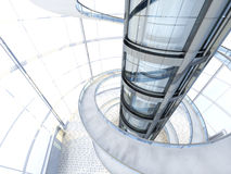 Futuristisk arkitektur Royaltyfri Foto