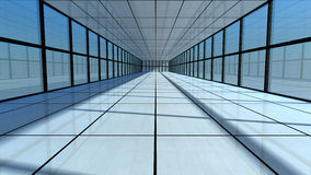 futuristisk arkitektur 3d Arkivfoton