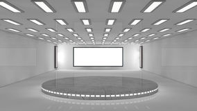 futuristisk arkitektur 3d Fotografering för Bildbyråer