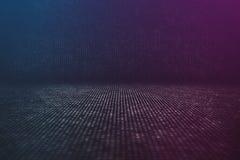 Futuristisk bakgrund för dataström Arkivbilder