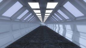 Futuristisk bakgrund för film Arkivfoto