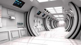 Futuristisk bakgrund för film Arkivfoton