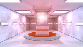 Futuristisk bakgrund för film Royaltyfri Fotografi