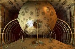 Futuristisk boll vektor illustrationer