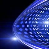 Futuristisk design för teknologivågbakgrund Royaltyfri Foto