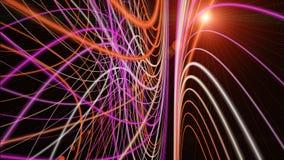 Futuristisk design för teknologivågbakgrund royaltyfria foton