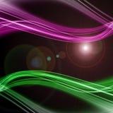 Futuristisk design för teknologivågbakgrund Arkivfoto