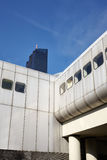 Futuristisk infrastruktur för Wien stadsdrev Arkivbilder
