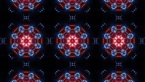 Futuristisk kalejdoskopmodell för mång- färg modern bakgrundsdesign vektor illustrationer
