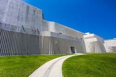 Futuristisk & konstnärlig byggnad Royaltyfri Foto