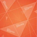 Futuristisk mall för vektor. Färgrik bakgrund. Royaltyfri Illustrationer