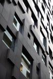 Futuristisk och modern byggnad i modern stad royaltyfri foto