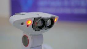 Futuristisk robotspindel Arkivbild