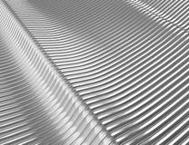 Futuristisk rostfritt stålbakgrund Royaltyfri Bild