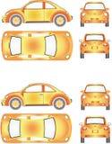 Futuristiska Mini Car Arkivbilder