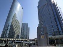 Futuristiska Shinagawa Royaltyfri Fotografi