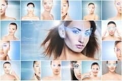 Futuristiskt begrepp Fotografering för Bildbyråer