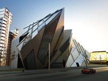 Futuristiskt stadskvarter Royaltyfri Foto
