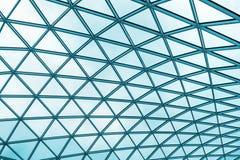 futuristiskt tak av modern byggnad Royaltyfri Foto