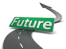 A futuro Fotografia Stock